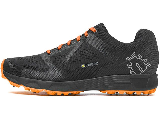 """Icebug M´s Kayi3 BUGrip Shoes Black/Mango"""